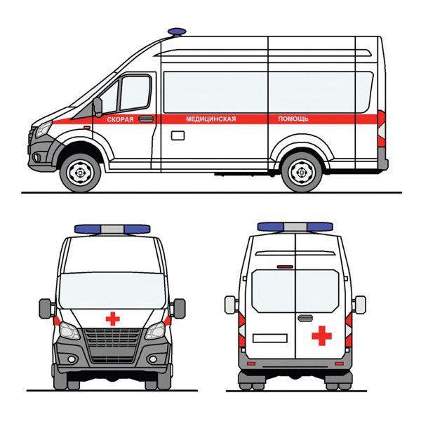 Цветографическая схема Скорая помощь