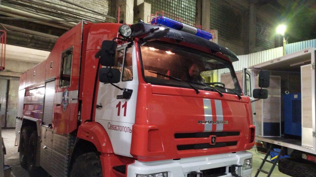 Оклейка автомобиля Пожарная охрана