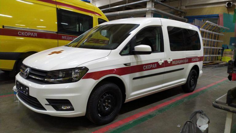 Оклейка автомобилей Скорая медицинская помощь в Нижнем Новгороде