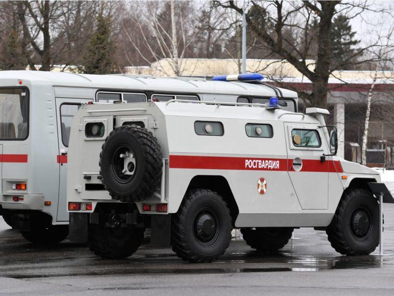 Оклейка авто росгвардия в Нижнем Новгороде