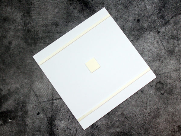 Пластиковая основа для таблички