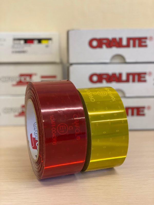 Oralite vc 104 для жестких бортов фургонов светоортажающие полосы